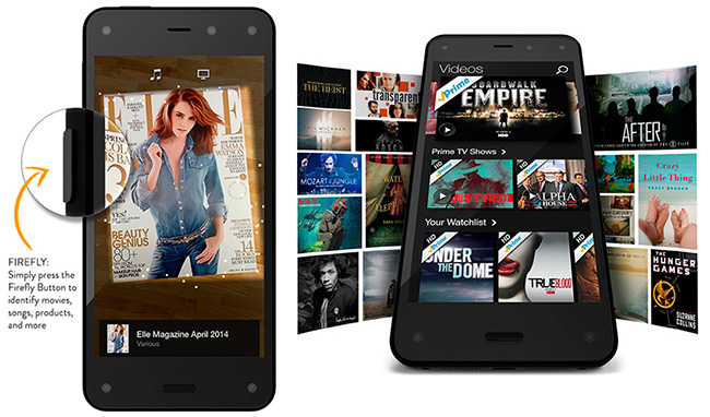 смартфон Fire Phone Amazon
