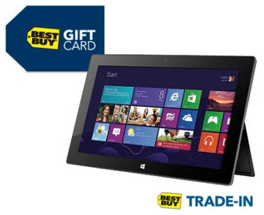 Best Buy trade-in планшеты Microsoft