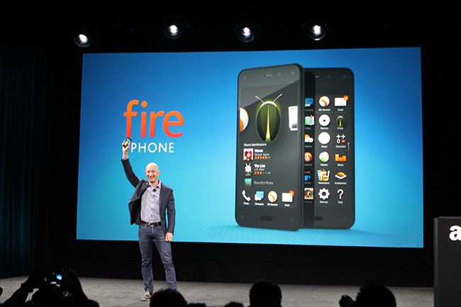 презентация Amazon Fire Phone
